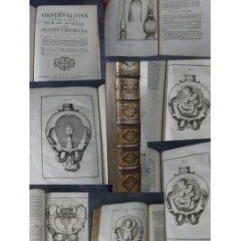 Deventer (Henry de)Observations importantes sur le manuel des accouchements accouchemens 1739