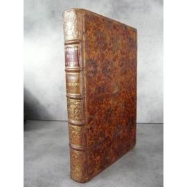Paradin Guillaume Histoire de Lyon Edition originale Gryphe 1573 suivi de Privilège Franchises par Rubys 1574 plein veau