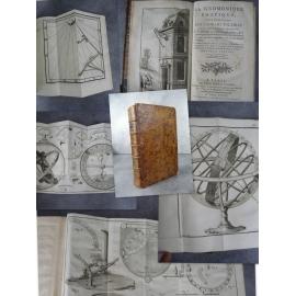 Bedos de Celles La gnomonique pratique art des cadrans solaires Paris 1780 gravures