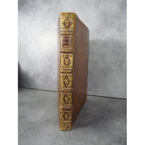 Statuts et règlemens [réglements] de l'hôpital général de la Charité et aumône générale de Lyon 1742