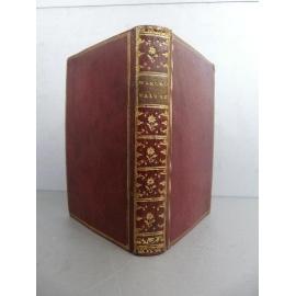 Palingene Zodiaque de la vie Zodiacus Vitae Plein maroquin rouge époque 1722 Astrologie
