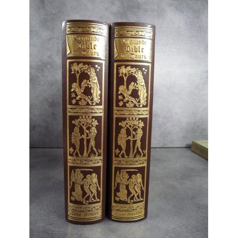 La grande bible de tours Gustave Doré Jean de Bonnot splendide état de neuf tirage de tête pour collectionneur exigeant