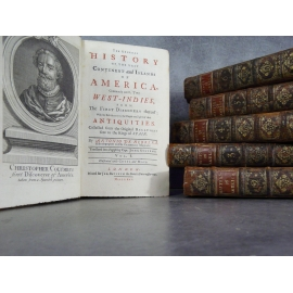 Anfonio di Herrera GEneral history of the vast continent and islands of America London 1725