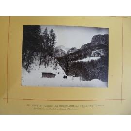 50 photos anciennes chartreuse Dauphiné Grenoble Montagne CAF année 1884