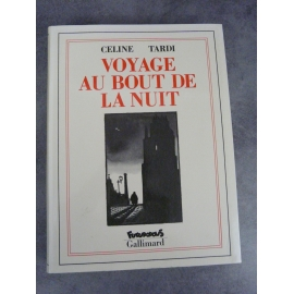 Céline Tardi Voyage au bout de la nuit Futuropolis Gallimard 1er tirage septembre 1988