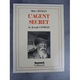 Conrad Joseph Miles Hyman L'agent secret Futuropolis Gallimard 1er tirage décembre 1991