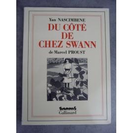 Proust Nascimbene Du coté de chez Swann Futuropolis Gallimard 1er tirage mars 1990