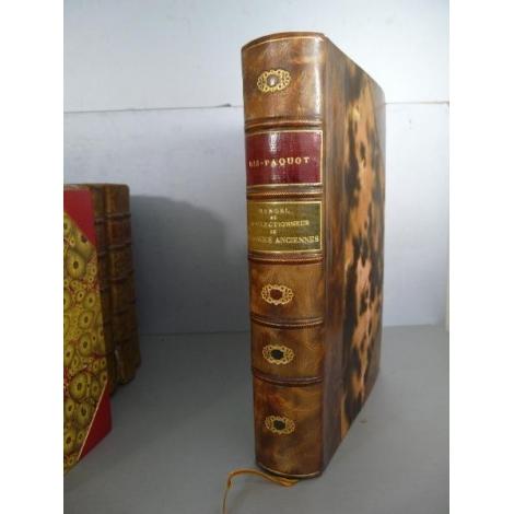 Ris-Paquot Manuel du collectionneur de faïence ancienne