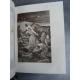 Heures de la sainte bible Paris Crété 1892 belle reliure plein maroquin sous coffret