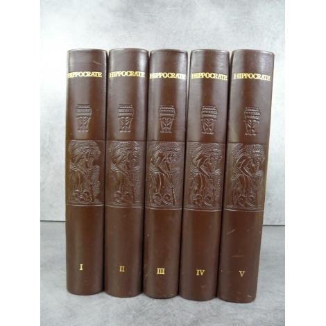 Hippocrate, avec les bois de Jean Chièze Médecine illustré moderne cadeau thèse. Reliure cuir numéroté