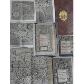 Histoire universelle des indes occidentales par Wytfliet, Atlas Americana Mercator voyage