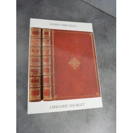 Bibliophilie bibliographie catalogue Sourget XXXI 2005 Manuscrits livres précieux