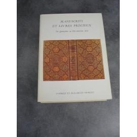 Bibliophilie bibliographie catalogue Sourget du XVe au XVIIIe Manuscrits livres précieux