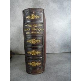 Droit Rivière Code français et lois usuelles Bon exemplaire 1882 La référence de l'époque