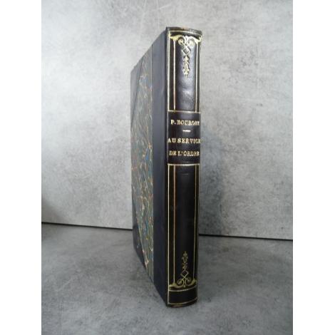 Paul Bourget Au service de l'ordre plon 1929 Edition originale sur alfa reliure.