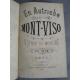 Voyage En Autriche par le mont Viso Manuscrit lithographié . Très rare.