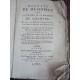 Rozier, Mémoires sur la culture du chanvre, Edition originale rare Drogue médecine Cannabis Corde