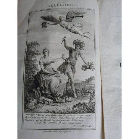 Moussard La libertéide ou les phases de la révolution française chant du philosophe EO 1802