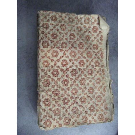 Almanach de la ville de Lyon et du département du Rhone 1806 papier dominoté foire marché vie administrative.