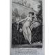 Sainte Bible en latin et Français par Carrières complet en dix volumes, rare en brochage éphémère d'époque.1802