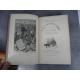 Hetzel Jules Verne ptit bonhomme cartonnage portrait collé dos au phare Voyages extraordinaires