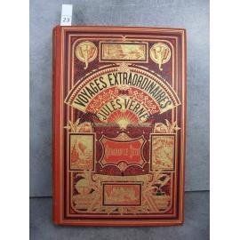 Hetzel Jules Verne Keraban le Têtu Deux éléphants Voyages extraordinaires bon exemplaire.