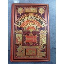 Hetzel Jules Verne Keraban le Têtu 2 éléphants 1883 Voyages extraordinaires