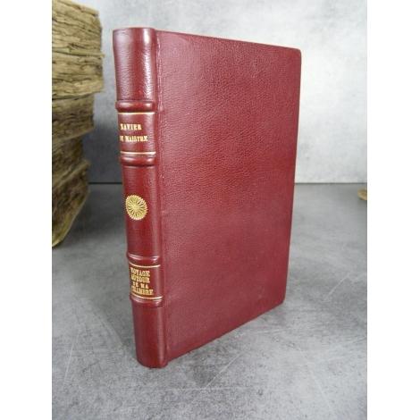 De Maistre Xavier Voyage autour de ma chambre Quantin 1882 plein maroquin gravures de Delort