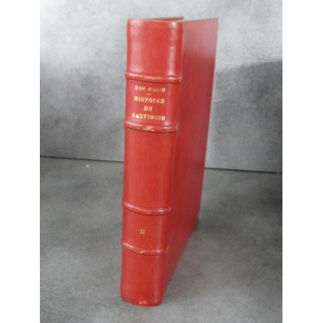 Histoire du Gastinois par Dom Maurin Pithiviers Laurent 1883 Ferrières Melun, Sens, Abbaye Royale