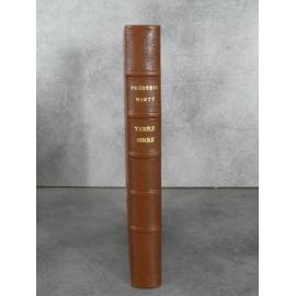 Marty Frédéric Terre noire Sully-Prudhomme Lemerre 1895 Illustré Beauverie Chapoton Ducaruge Mine charbon Poésie Bon exemplaire