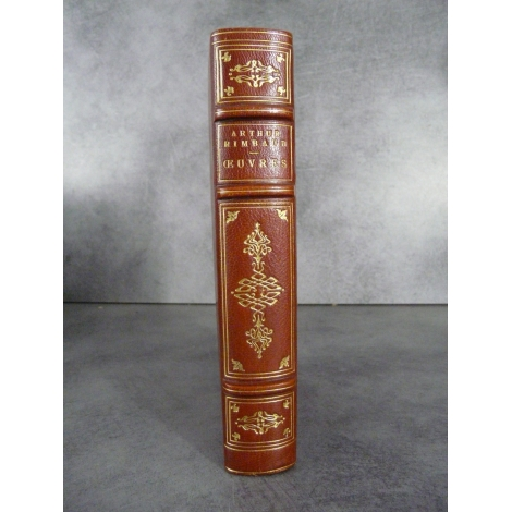 Rimbaud Arthur Oeuvres Mercure de France 1950 numéroté 113 Demi maroquin miel à coins bel exemplaire.
