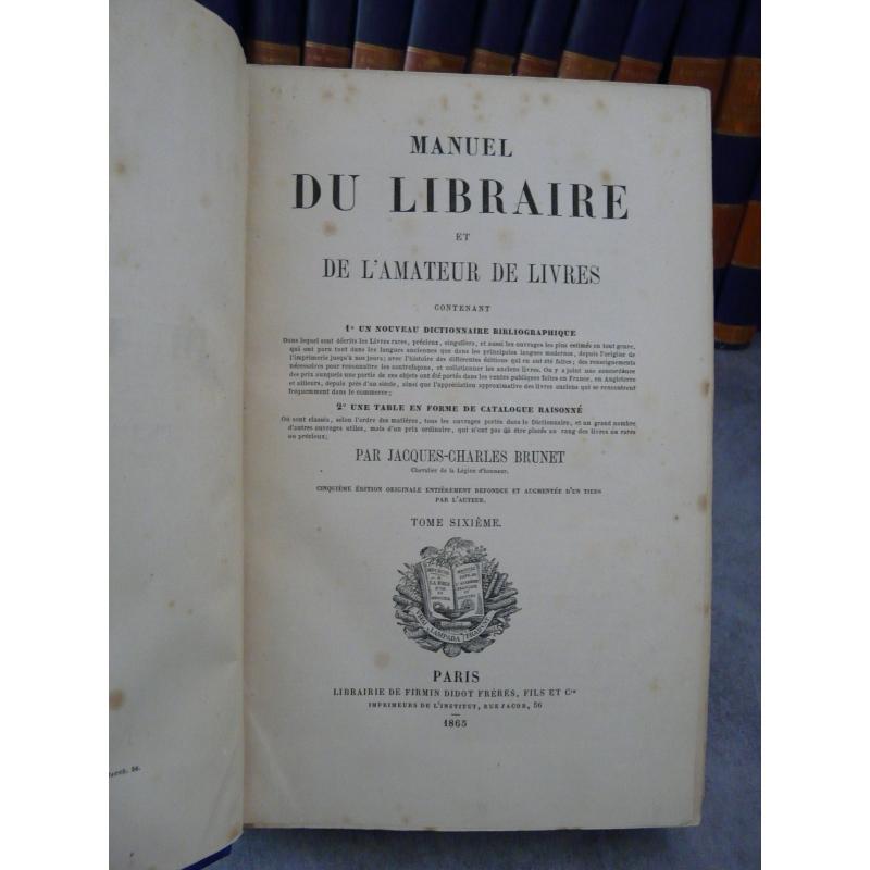 amateur Libraire et de l