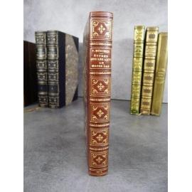 Mérimée Prosper Etude sur les arts édition originale maroquin de Blanchetière 1875