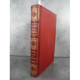 Hetzel Jules Verne Deux ans de vacances Catalogue FX Reliure aux harpons Voyages extraordinaires Superbe très frais